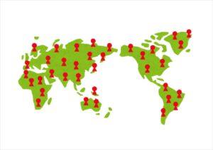 世界のオンラインカジノ利用人数