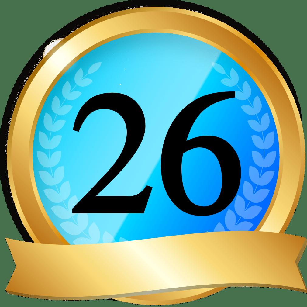 オンラインカジノサイト26位